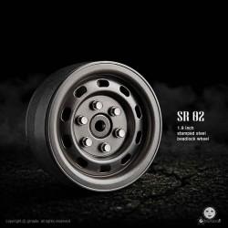 Cerchi SR02 1.9 Beadlock (Uncoated steel) - GMADE