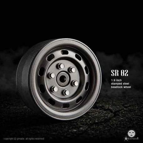 Cerchi SR02 1.9 Beadlock (Uncoated steel) - GMADE GM70177