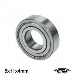Cuscinetto a Sfera 5x11x4mm (S.Acciaio) - YEAH RACING YB6014MS