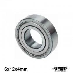 Cuscinetto a Sfera 6x12x4mm (S.Acciaio) - YEAH RACING