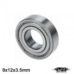 Cuscinetto a Sfera 8x12x3.5mm (S.Acciaio) - YEAH RACING