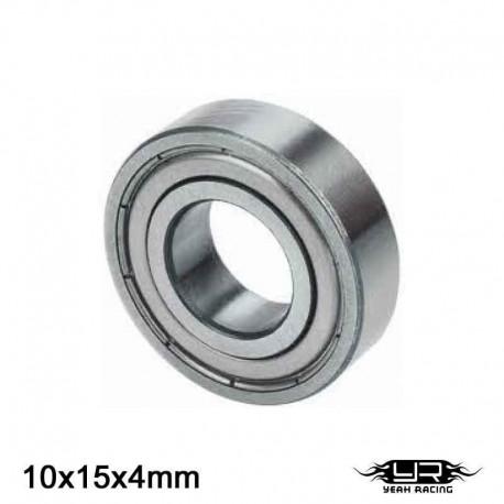 Cuscinetto a Sfera 10x15x4mm (S.Acciaio) - YEAH RACING YB6023MS