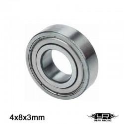 Cuscinetto a Sfera 4x8x3mm (S.Acciaio) - YEAH RACING