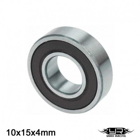 Cuscinetto a Sfera 10x15x4mm (S.Teflon) - YEAH RACING YB6023BS