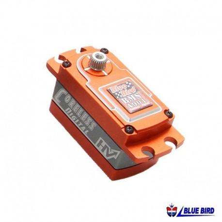 Servocomando in metallo High Voltage 8.5Kg - BLUE BIRD BMS-A901