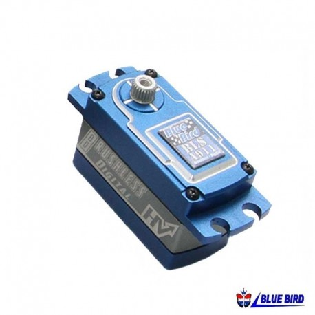 Servocomando in metallo High Voltage 9.5Kg - BLUE BIRD BLS-A911