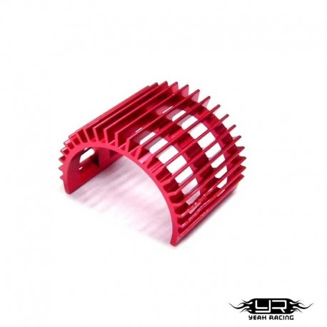 Dissipatore di Calore v1 per Motori 540 (Rosso) - YEAH RACING YA-0130RD