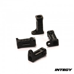 Attacchi Pedane sottoporta in Alluminio per Axial SCX10 - INTEGY