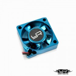 Ventola Tornado High Speed 30x30mm v1 (AZZURRO) - YEAH RACING YA-0180BU