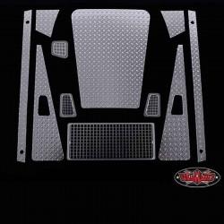 Set Completo Mandorlato ARGENTO Defender D90 - RC4WD Z-S0985