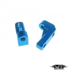 Supporti servo Blu - Yeah Racing