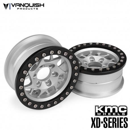 CERCHI KMC 1.9 XD127 BULLY GRIGIO-NERO ANODIZZATO - Vanquish VPS07711