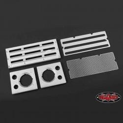 Set Griglia e Fari D90 in Alluminio - RC4WD