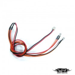 2 Led BIANCHI da 3mm v1 - Yeah Racing LK-0008OR