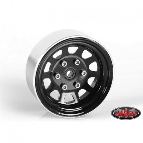 Cerchi Neri 1.7 in Acciaio Stampato - RC4WD Z-W0124