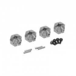 Esagoni trascinatori 7mm ARGENTO - GPM AX010-12X7MM-S