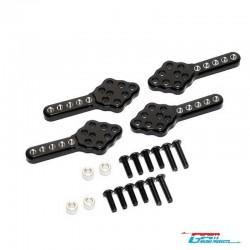 4 Supporti Ammortizzatori SCX10 - GPM