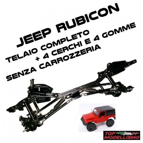 TELAIO COMPLETO Jeep Rubicon (Senza Carrozzeria) - TM TM-TJWR2