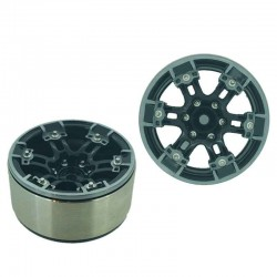 Set 4 Inch v2 1.9 in alluminio a 6 Razze - XTRA SPEED XS-59596