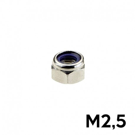10 Dadi M2.5 AUTOBLOCCANTI - TM TM-DAB25