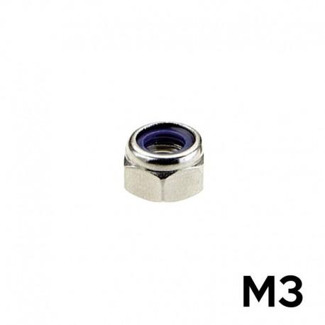 10 Dadi M3 AUTOBLOCCANTI - TM TM-DAB3