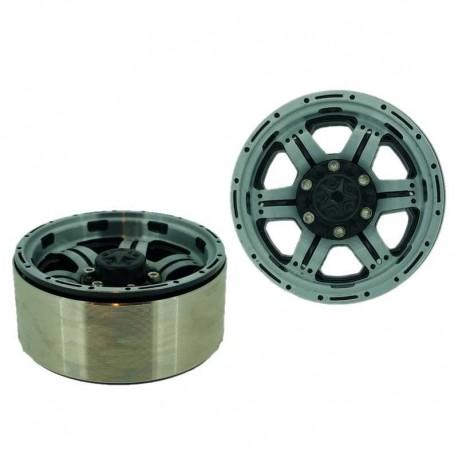 Set 4 Inch v1 1.9 in alluminio a 6 Razze - XTRA SPEED XS-59597