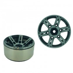 Set 4 Inch v5 1.9 in alluminio a 6 Razze - XTRA SPEED