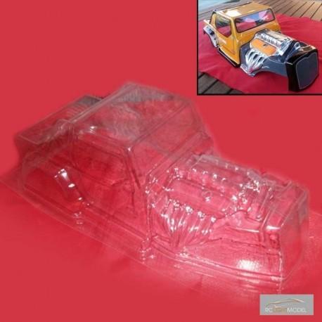 Carrozzeria HOT JEEP (Lexan 0.75mm) - RC Light Model RCLM-HJ75