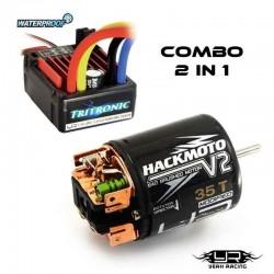 Combo ESC Tritronic + Motore 35T Brushed - YEAH RACING