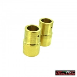 Rear uprights WEIGHTS in BRASS for Axial SCX10 - TM