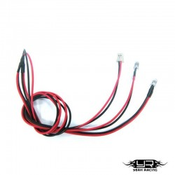 2 Led BIANCHI da 3mm v1 - Yeah Racing LK-0008RD