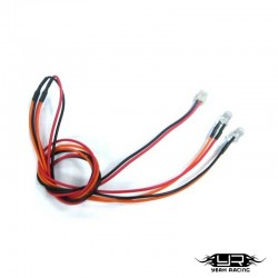 2 Led ARANCIONI da 5mm v2Pin - Yeah Racing LK-0009OR