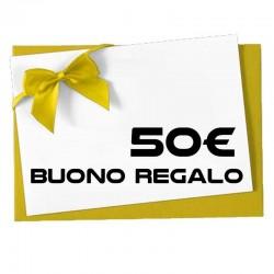 BUONO REGALO DA 50€ TM-BR50