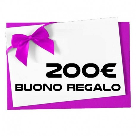 BUONO REGALO DA 200€ TM-BR200