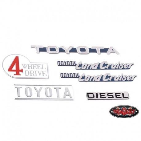 Set Emblemi Verniciati Gelande 2 CRUISER - RC4WD Z-S1714