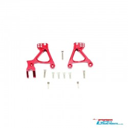 Shock towers FRONT. RED for AXIAL SCX-2 - GPM