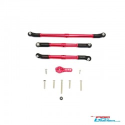 SET STEERING RED v1 for AXIAL SCX10-2 - GPM