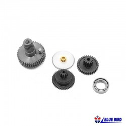 KIT Bearings and Gears Servos BLS-36A/BLS-3507 - BLUE BIRD