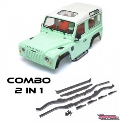 COMBO 2 in 1 Carrozzeria D90 PLUS - TRC