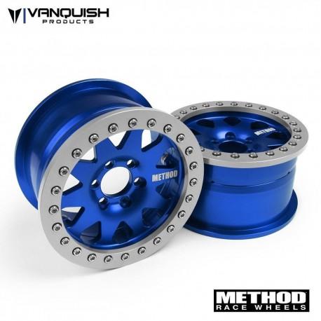 CERCHI METHOD 2.2 RACE WHEEL 101 BLU-GRIGIO ANODIZZATO - Vanquish VPS08004