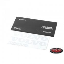 Set Emblemi VOLVO per ESCAVATORE 360L RC4WD - CChand