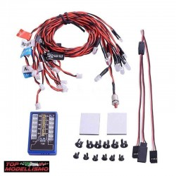 Kit 12 Led con Centralina Programmabile - TM