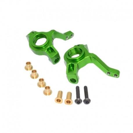 Barilotti in alluminio BLU - YEAH RACING SCX021-G