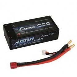 Batteria LiPo SHORTY 4600mAh 7.4v 2s 65c HARDCASE - GENS ACE