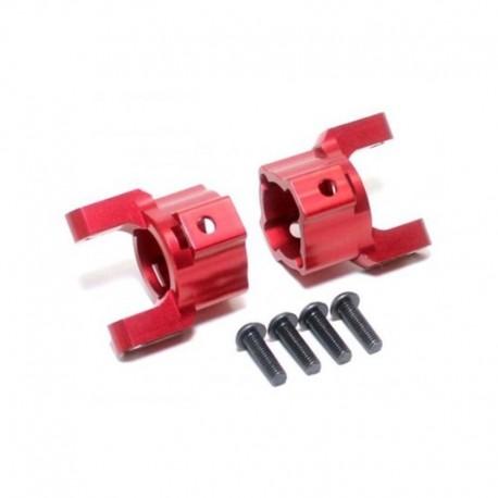 Barilotti in alluminio BLU - YEAH RACING SCX019-R