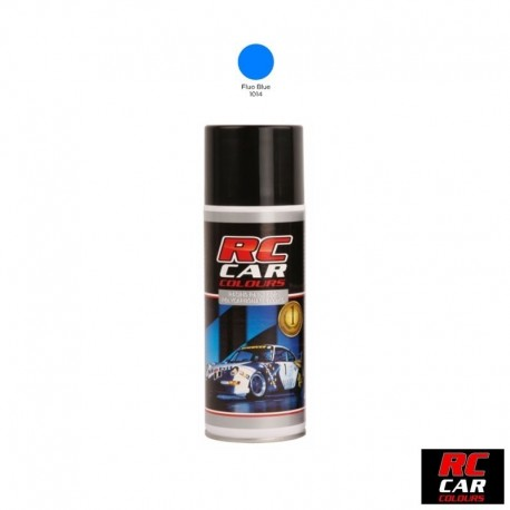 VERNICE BLU FLUORESCENTE per CARROZZERIE in LEXAN - RC COLOURS RCC-1014