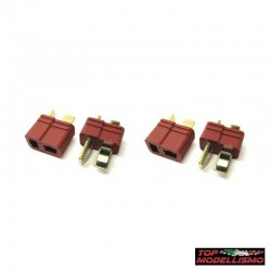 4 DEANS CONNECTORS MALE and FEMALE - TM