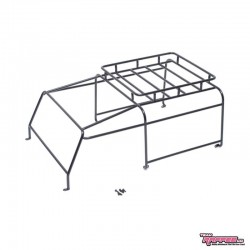 ROLL CAGE with METAL roof-RACK for Body Defender D90/D90 PickUP - TRC