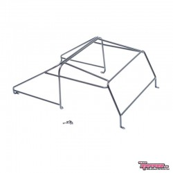 ROLL CAGE in METALLO v1 per Carrozzeria Defender D90 PickUP - TRC