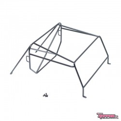 ROLL CAGE in METALLO v2 per Carrozzeria Defender D90 PickUP - TRC